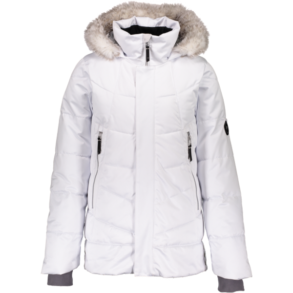 JUNIOR GIRLS MEGHAN JACKET - WHITE