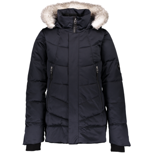 OBERMEYER JUNIOR GIRLS MEGHAN JACKET - BLACK