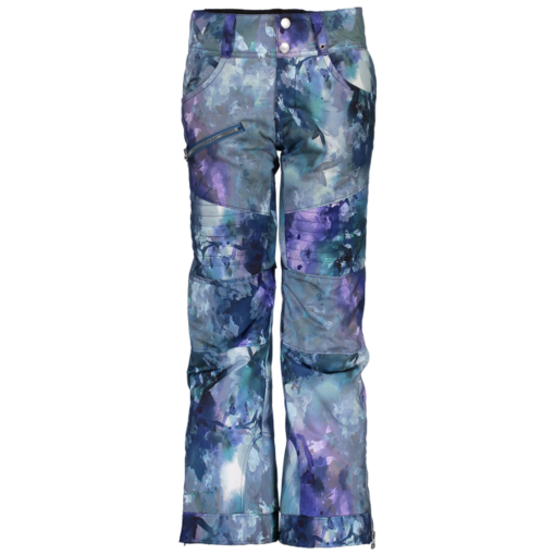 OBERMEYER JUNIOR GIRLS JESSI PANT - WATERCOLOR FLORAL