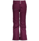 OBERMEYER JUNIOR GIRLS JESSI PANT - DROP THE BEET - SIZE SMALL (8) ONLY