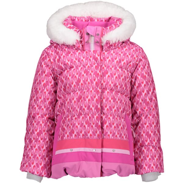 PRESCHOOL GIRLS BUNNY JACKET - PINK & PINKER