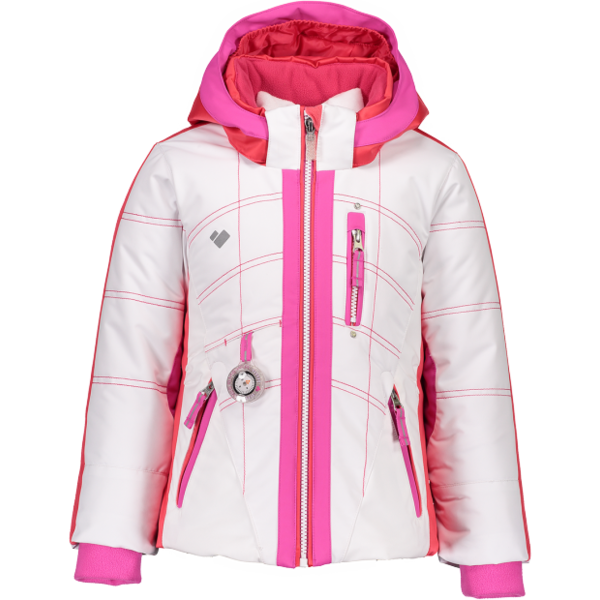 PRESCHOOL GIRLS HEY SUNSHINE JACKET - WHITE