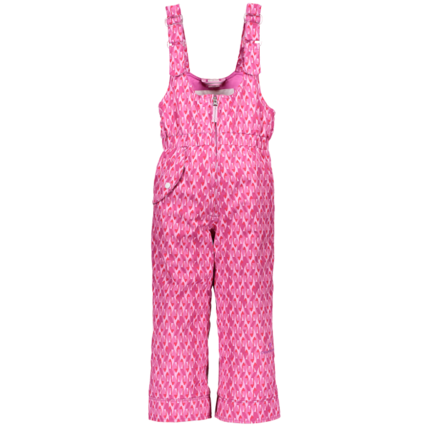 PRESCHOOL GIRLS SNOVERALL PRINT PANT - PINK & PINKER