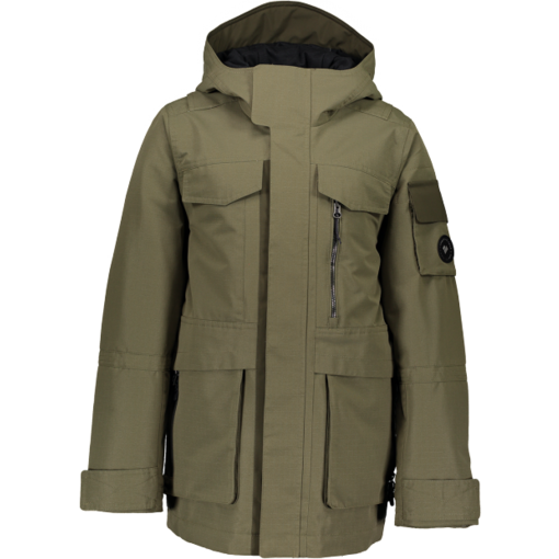 OBERMEYER JUNIOR BOYS COLT JACKET - MILITARY TIME