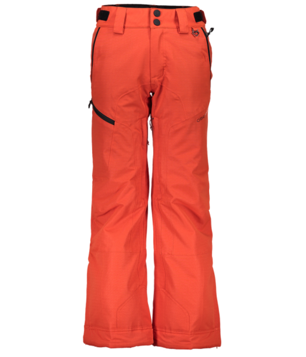 OBERMEYER JUNIOR BOYS PARKER PANT - IRON OXIDE