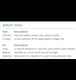 TURTLE FUR FREEBIRD HAT - POWDER