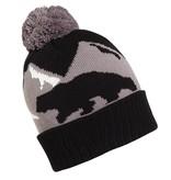 TURTLE FUR BEAR MOUNTAIN HAT - BLACK