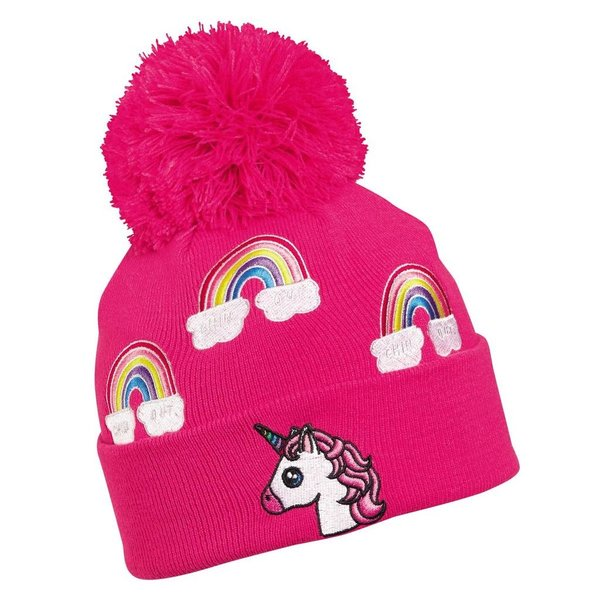 KIDS UNICORN HAT - PINK