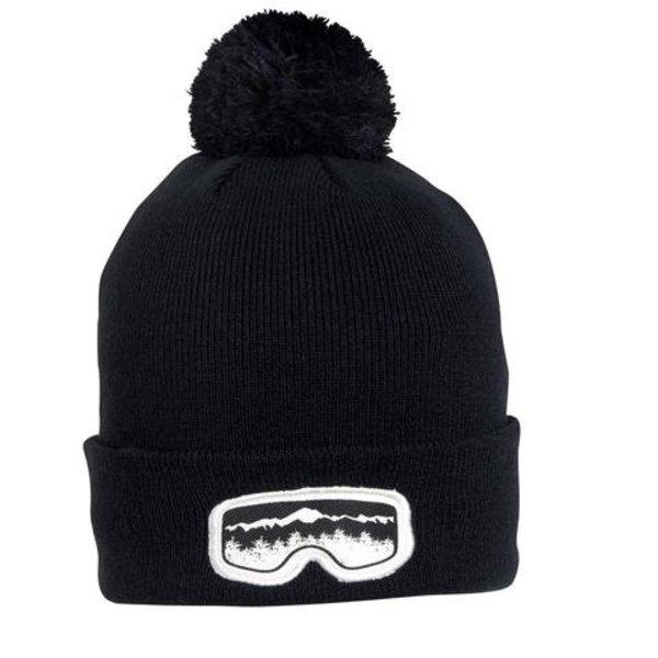 KIDS GOGGLE VISION HAT - BLACK