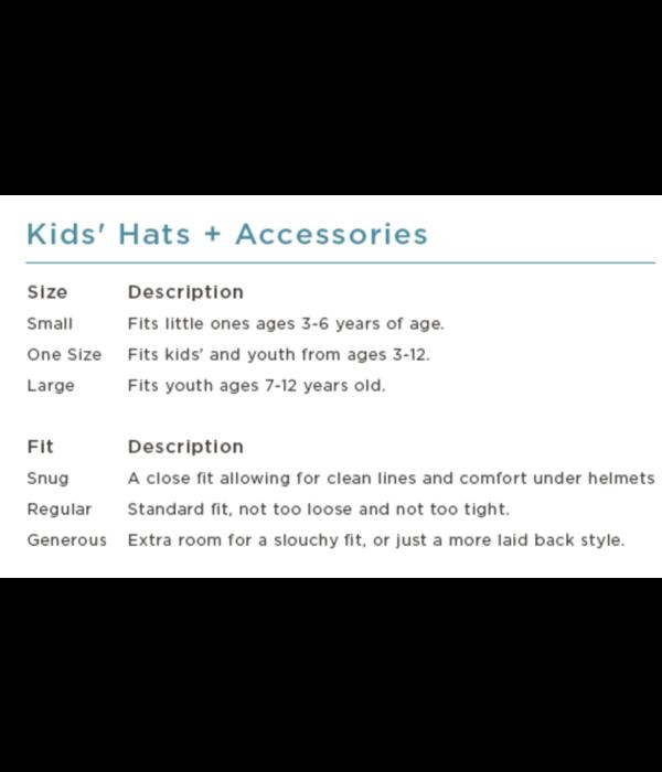 TURTLE FUR KIDS GOGGLE VISION HAT - BLACK