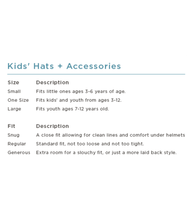 TURTLE FUR KIDS FREEBIRD HAT - POWDER