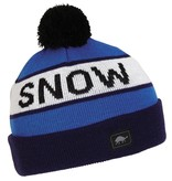 TURTLE FUR KIDS THINK SNOW HAT - NAVY