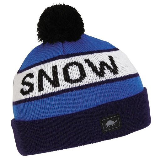 TURTLE FUR KIDS THINK SNOW HAT - NAVY