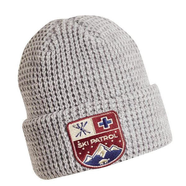 KIDS SKI PATROL HAT - GRAY