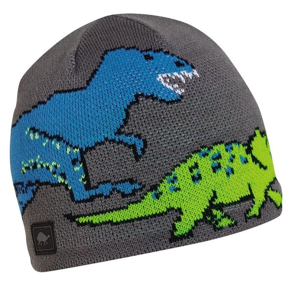 KIDS JURASSIC HAT AGES 3-6 - GRAY