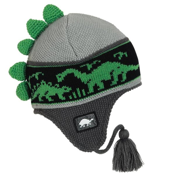 KIDS DR. DINO HAT - GRAY