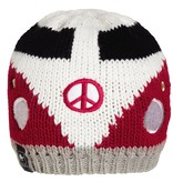 TURTLE FUR KIDS #VANLIFE HAT - RED