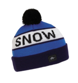 TURTLE FUR THINK SNOW HAT - NAVY