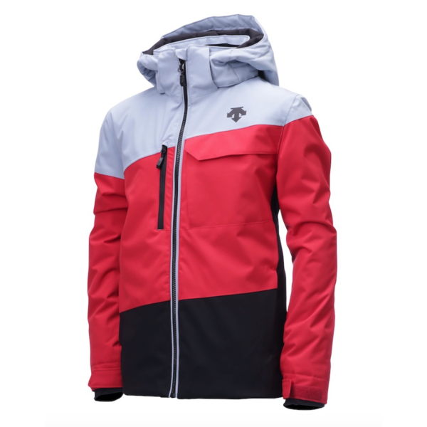 JUNIOR BOYS MADDOX JACKET - RED/GREY/BLACK