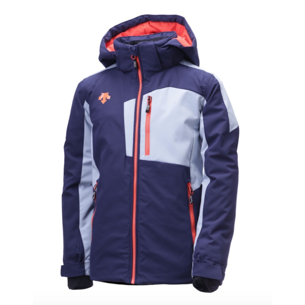 JUNIOR BOYS KAI JACKET - GREY/ORANGE/NAVY - SIZE 16 ONLY