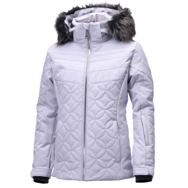 JUNIOR GIRLS SAMI JACKET - SILVER/SILVER