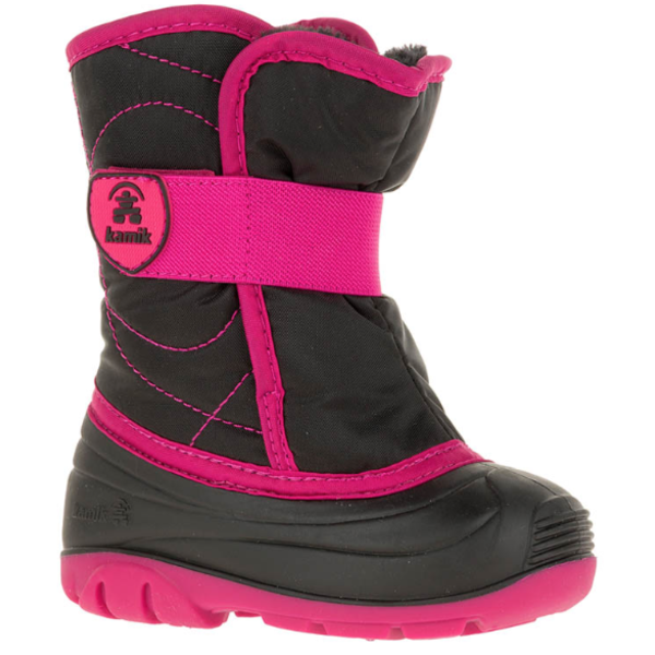 SNOWBUG 3 BOOT - BLACK/MAGENTA