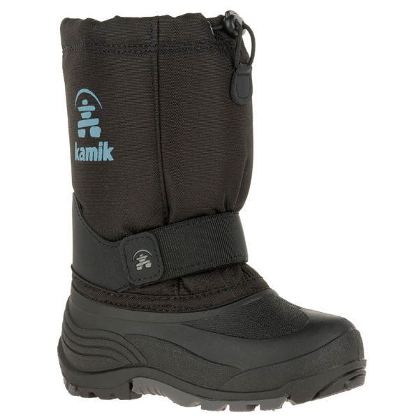 YOUTH ROCKET SNOWBOOT - BLACK - SIZE 3 ONLY