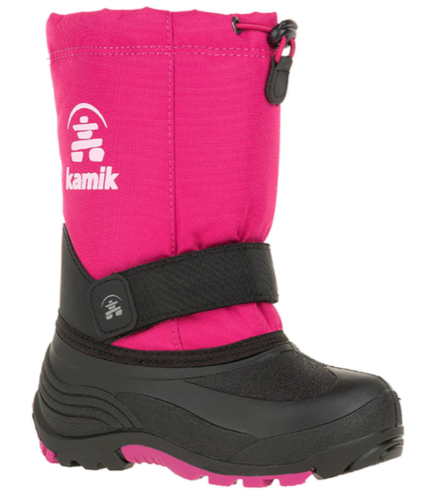 KAMIK YOUTH ROCKET SNOWBOOT - BRIGHT ROSE