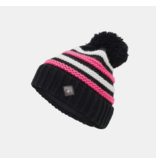 SPYDER JUNIOR GIRLS ARROW HAT - BLACK