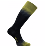 EUROSOCKS ULTRALITE SILVER SOCKS - BLACK/YELLOW