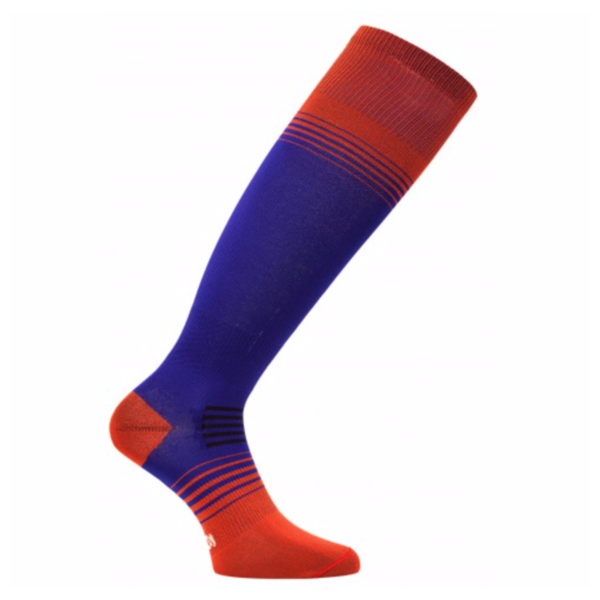 ULTRALITE SILVER SOCKS - BLUE/RED