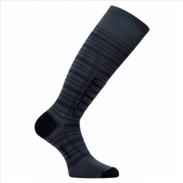 SILVER SKI LIGHT SOCKS - CHARCOAL - SIZE SMALL ONLY