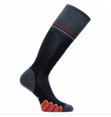 EUROSOCKS SILVER SUPREME SOCKS - BLACK ASPHALT