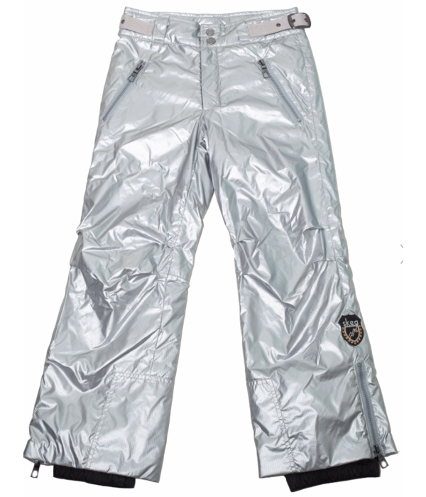 SKEA CARGO PANT - SILVER RIPSTOP - SIZE 14 ONLY