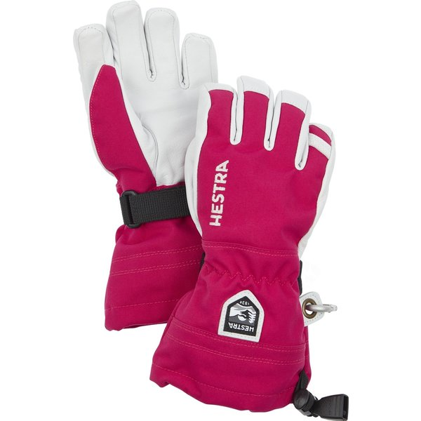 HELI JR SKI GLOVE - HOT PINK
