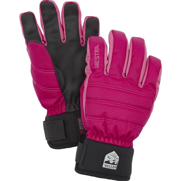 CZONE PRIMALOFT JUNIOR GLOVE - PINK - SIZE 7 ONLY