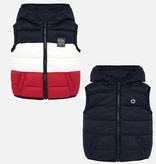 MAYORAL INFANT BOYS PADDED REVERSIBLE VEST - RED - SIZE 6 MONTHS ONLY