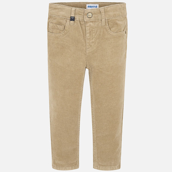 PRESCHOOL BOYS CORD PANTS - CAMEL