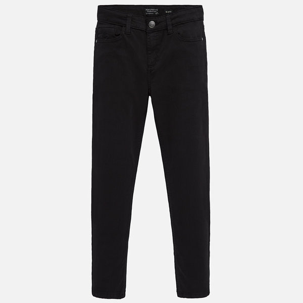 JUNIOR BOYS BASIC PANT - BLACK