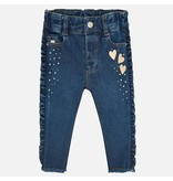MAYORAL INFANT GIRLS DENIM PANTS - BASIC