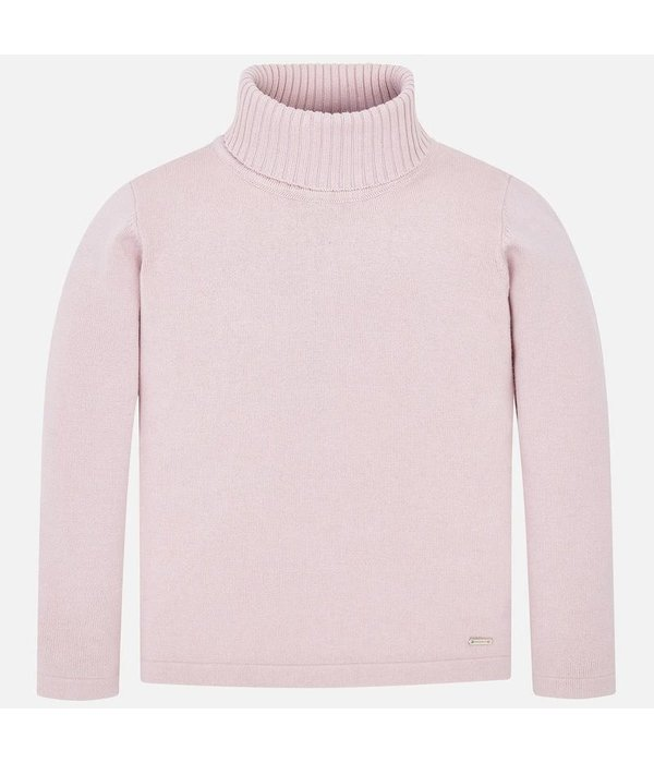 MAYORAL PRESCHOOL GIRLS KNITTED TURTLENECK - NUDE