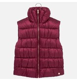 MAYORAL JUNIOR GIRLS PADDED VEST - RUBY - SIZE 18 ONLY