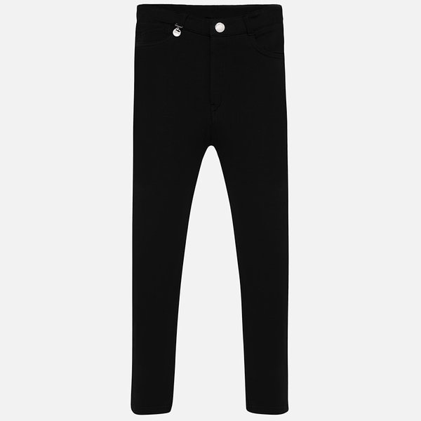 JUNIOR GIRLS FLEECE PANTS - BLACK