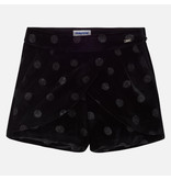 MAYORAL JUNIOR GIRLS VELVET SKORT - BLACK - SIZE 18 ONLY