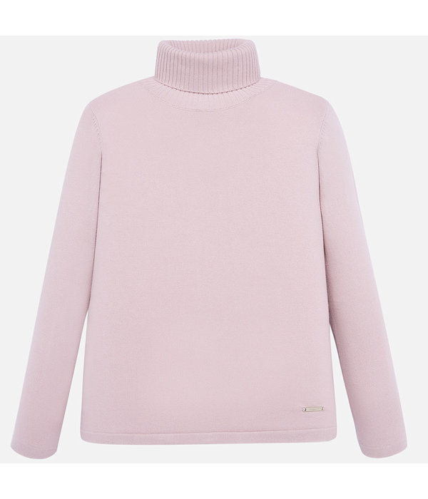 MAYORAL JUNIOR GIRLS KNIT TURTLENECK - NUDE