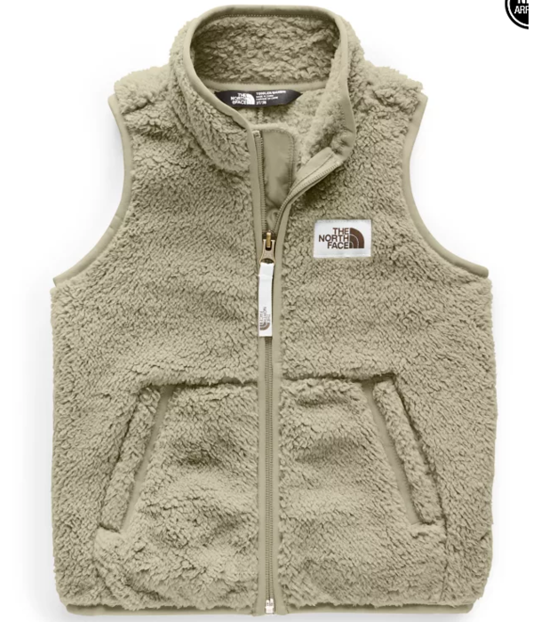 THE NORTH FACE TODDLER CAMPSHIRE VEST - CROCKERY BEIGE