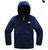 THE NORTH FACE JUNIOR BOYS CAMPSHIRE HOODIE - MONTAGUE BLUE