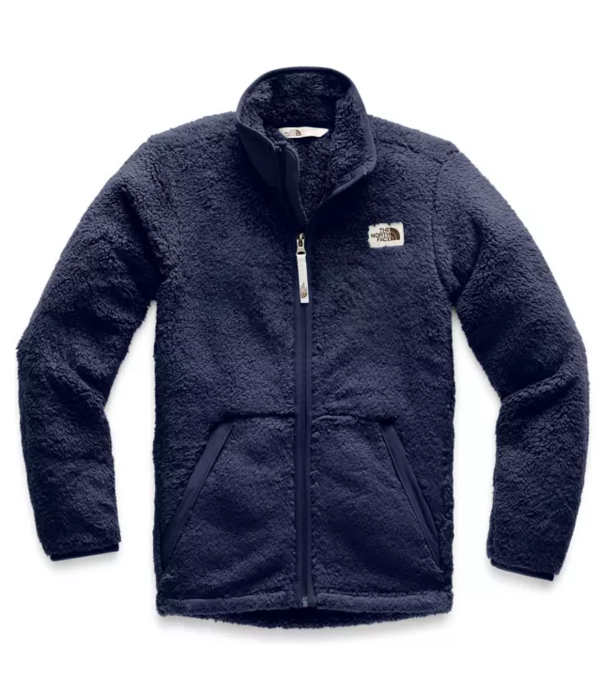 THE NORTH FACE JUNIOR BOYS CAMPSHIRE FULL-ZIP - MONTAGUE BLUE