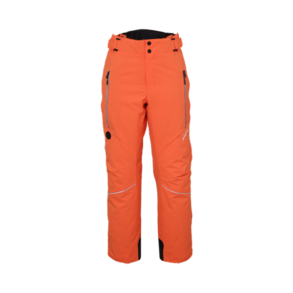 NORWAY ALPINE TEAM JR SALOPETTE PANT - ORANGE - SIZE 18 ONLY