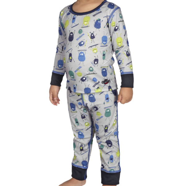 TODDLER MIDWEIGHT PRINT SET - DOODS - 2T ONLY